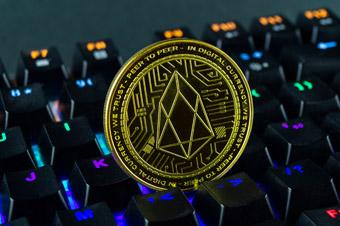 EOS moneta - Portfel - Komputer