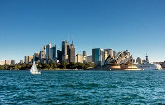 Australia Sydney - Historia AUD