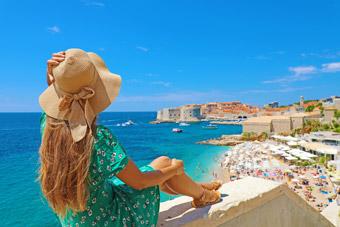 Chorwacja - Plaża, turystyka - HRK