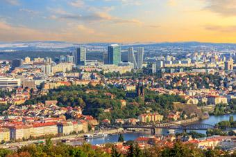 Czechy miasto - Korona CZK