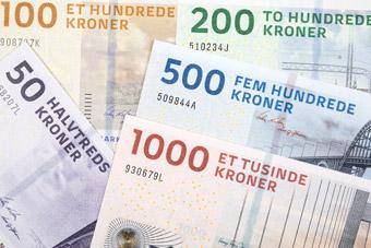 Duńskie monety i banknoty