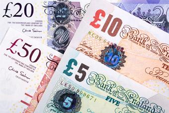 Funt brytyjski (GBP) - Monety i banknoty