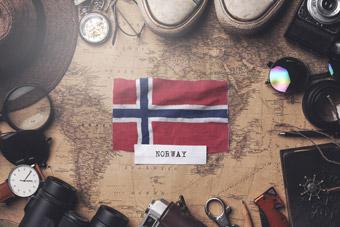 Historia korony norweskiej NOK