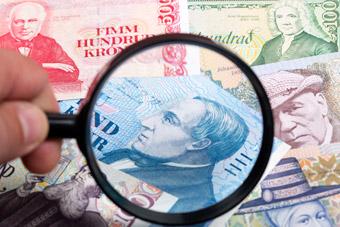 Islandzkie pieniądze - Monety i banknoty