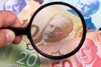 Kanadyjskie monety i banknoty