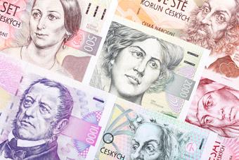 Korony czeskie - Monety i banknoty - Pieniądze
