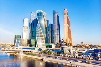 Moskwa (Rosja) - Drapacze chmur