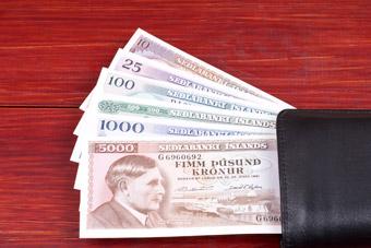 Pieniądze - Korony islandzkie ISK