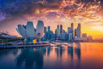 Singapur stolica - Dolar SGD - Historia