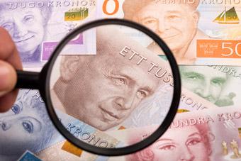 Szwedzkie banknoty i monety
