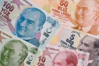 Tureckie banknoty i monety