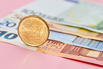 Waluta Euro - Monety i banknoty